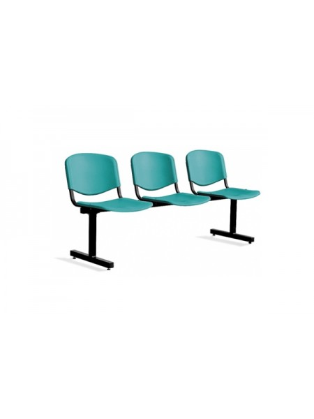 Трёхместная секция сидений ISO 3 Z plast