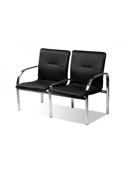 Двухместная секция сидений Staff-2 chrome