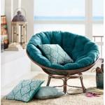 Кресла-качалки из ротанга
