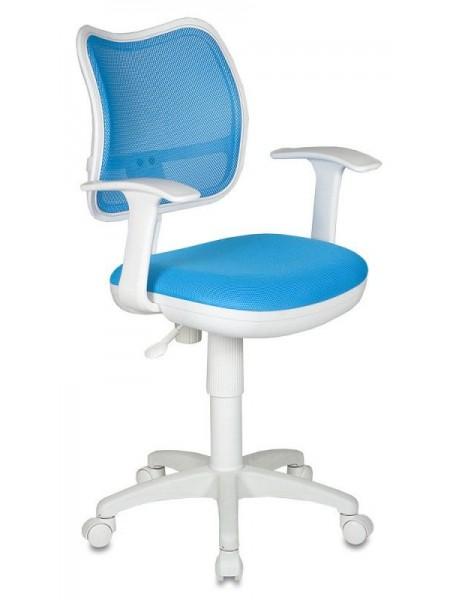 Детское кресло CH-W797/LB/TW-55 светло-голубой