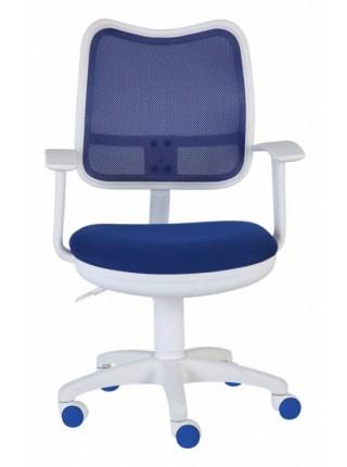 Детское кресло CH-W797/BL/TW-10 синий (пластик белый)