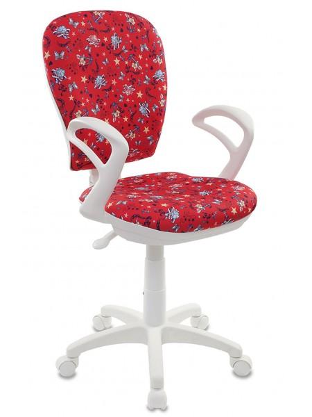 Детское кресло  CH-W513/ANCHOR-RD якоря красный