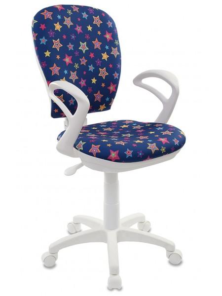 Детское кресло  CH-W513/STAR-BL  звезды синий