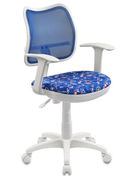 Детское кресло  CH-W797/BL/SEA морская тематика