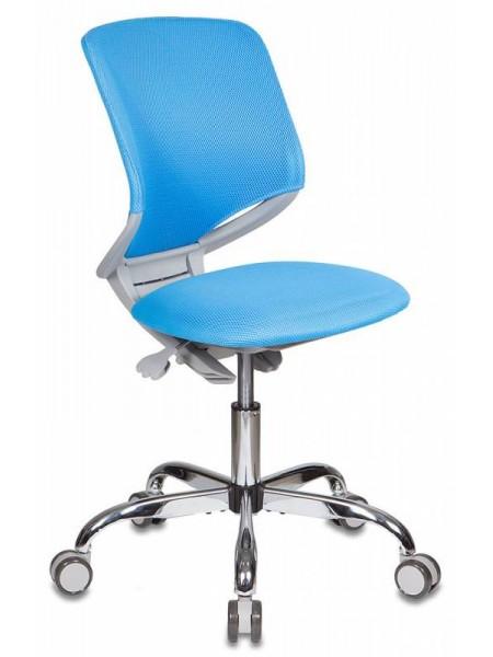 Детское растущее кресло KD-7/TW-55 голубой