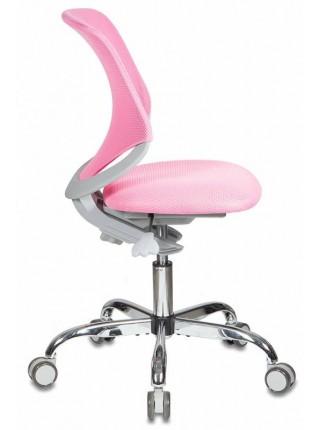 Детское растущее кресло KD-7/TW-13A розовый