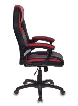Кресло игровое Бюрократ CH-829/BL+RED черный/красный искусственная кожа