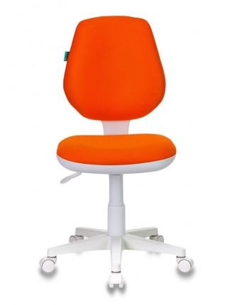 Кресло детское Бюрократ CH-W213/TW-96-1 оранжевый TW-96-1 (пластик белый)