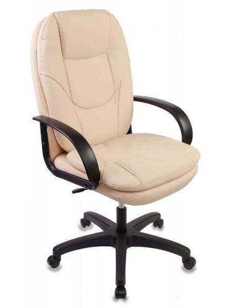 Кресло руководителя Бюрократ CH-1868/BEIGE бежевый искусственная кожа (пластик черный)