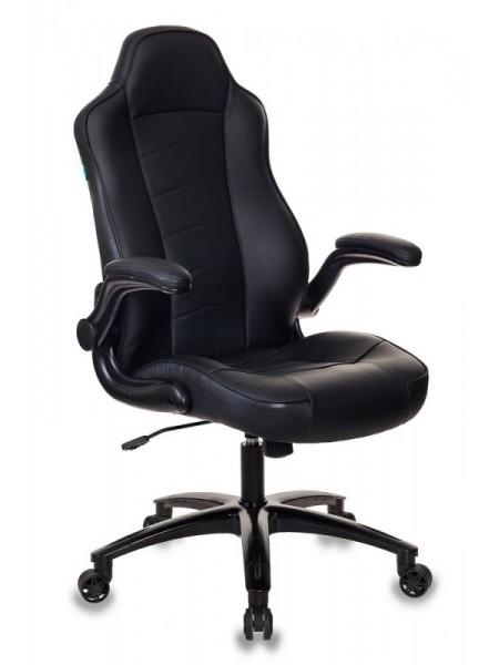 Кресло игровое Бюрократ VIKING-2/BLACK черный искусственная кожа