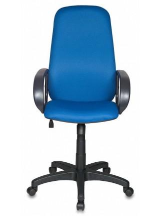 Кресло руководителя Бюрократ CH-808AXSN/TW-10 синий TW-10