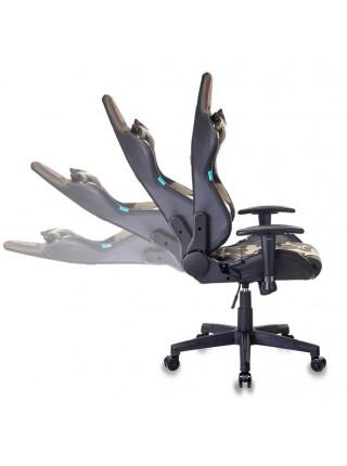 Кресло игровое Бюрократ CH-778N/CAMOUFLAGE две подушки камуфляж искусст.кожа/ткань