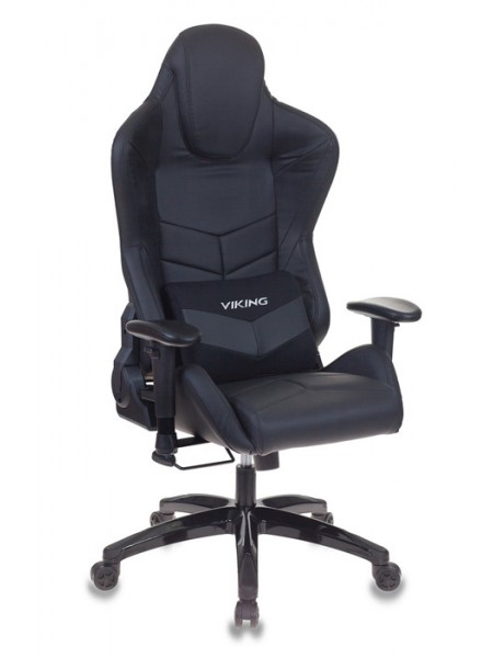 Кресло игровое Бюрократ CH-773N/BLACK две подушки черный искусственная кожа (пластик черный)