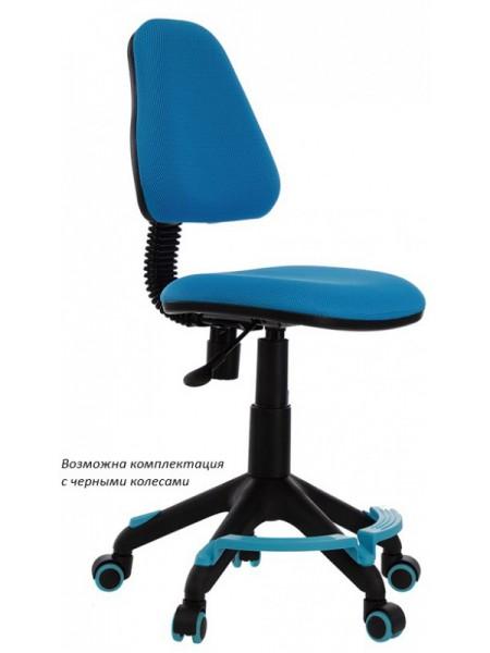 Кресло детское Бюрократ KD-4-F/TW-55 голубой TW-55