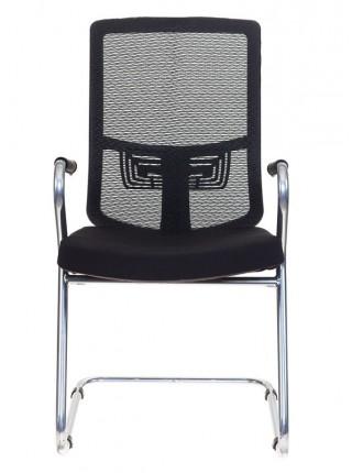 Кресло Бюрократ MC-619/B/26-B01 на полозьях черный BM-11 сиденье черный 26-B01