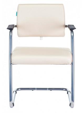 Кресло Бюрократ CH-271N-V/SL/OR-12 светло-бежевый зеркальный хром искусственная кожа