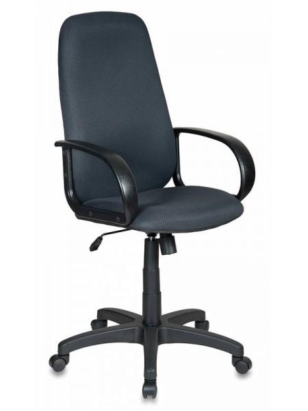 Кресло руководителя Бюрократ CH-808AXSN/TW-12 серый TW-12
