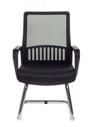 Кресло Бюрократ MC-209/B/TW-11 спинка сетка черный TW-01 TW-11 сетка/ткань