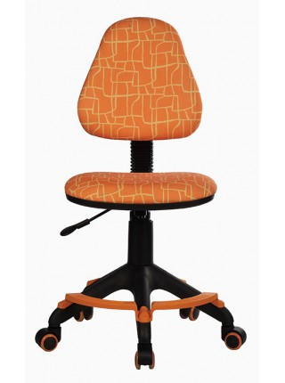 Кресло детское Бюрократ KD-4-F/GIRAFFE оранжевый жираф