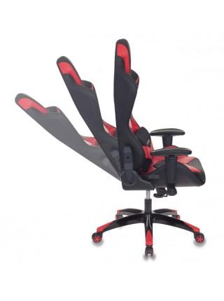 Кресло игровое Бюрократ CH-773N/BL+RED одна подушка черный/красный искусственная кожа