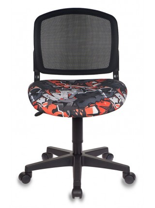 Кресло детское Бюрократ CH-296NX/GRAFFITY спинка сетка черный сиденье черный граффити Graffity