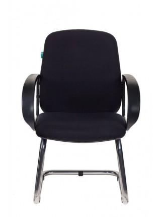 Кресло Бюрократ CH-808-LOW-V/BLACK низкая спинка черный 10-11