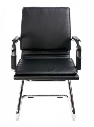 Кресло Бюрократ CH-993-Low-V/Black низкая спинка черный искусственная кожа