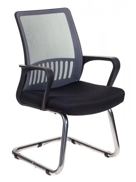Кресло Бюрократ MC-209/DG/TW-11 спинка сетка серый TW-04 сиденье черный TW-11 сетка/ткань
