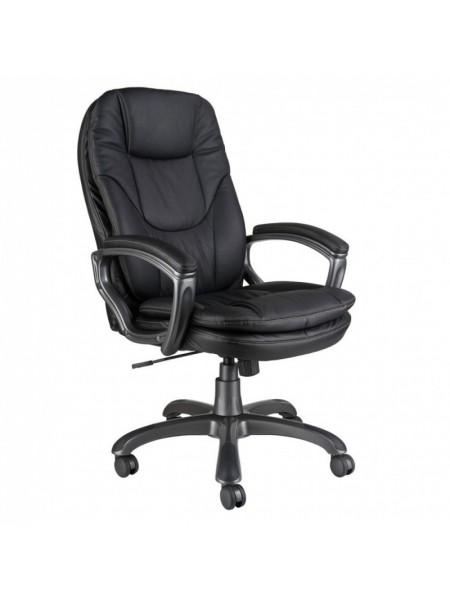 Кресло руководителя Бюрократ CH-868AXSN/Black черный искусственная кожа (пластик темно-серый)