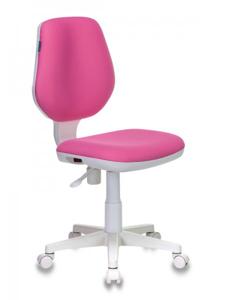 Кресло детское Бюрократ CH-W213/TW-13A розовый TW-13A (пластик белый)