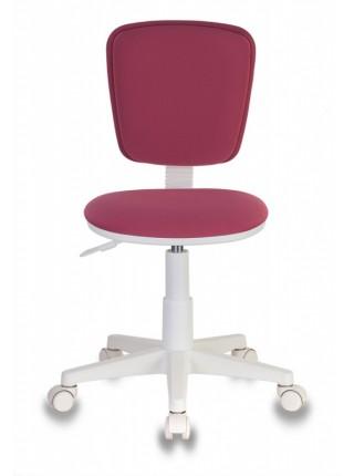 Кресло детское Бюрократ CH-W204NX розовый 26-31 крестовина пластик пластик белый