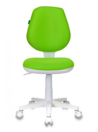 Кресло детское Бюрократ CH-W213/TW-18 салатовый TW-18 (пластик белый)