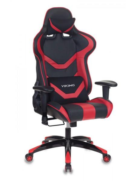 Кресло игровое Бюрократ CH-772N/BL+RED две подушки черный/красный искусственная кожа