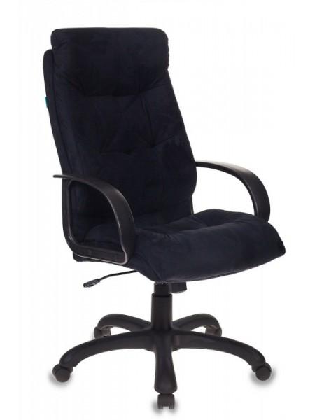 Кресло руководителя Бюрократ CH-824B/MF111-2 черный микрофибра