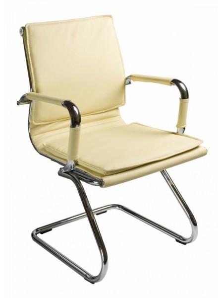 Кресло Бюрократ CH-993-Low-V/Ivory низкая спинка слоновая кость искусственная кожа