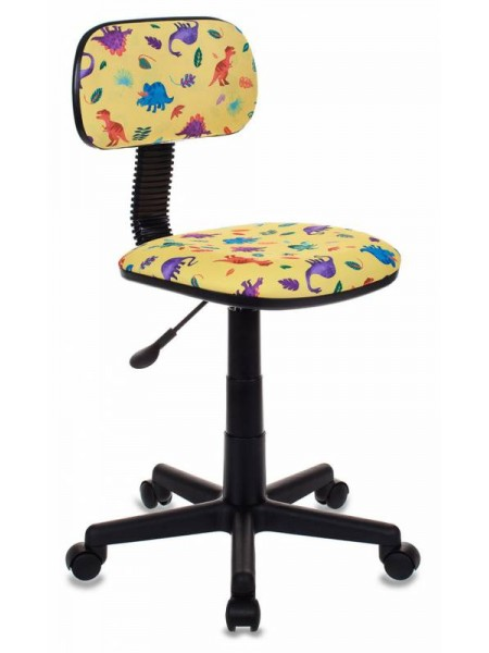 Кресло детское Бюрократ CH-201NX/DINO-Y желтый динозаврики Dino-Y