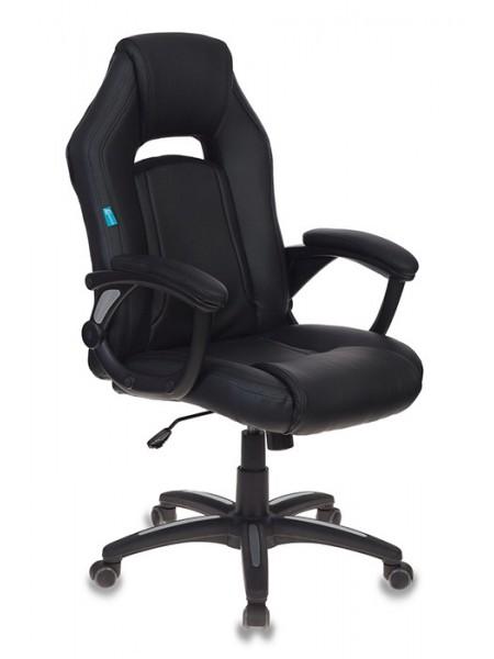 Кресло игровое Бюрократ CH-829/BL+BLACK черный искусственная кожа