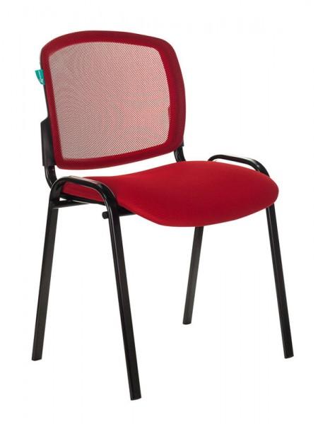 Стул Бюрократ VIKI/R/TW-97N спинка сетка TW-35N сиденье красный TW-97N