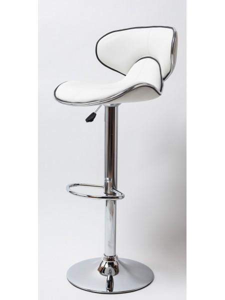 Барный стул BN 1008-3D (белый, черный)