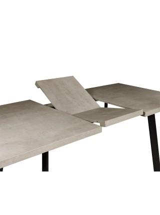 Стол Hagen (Хаген) Светлый бетон 120/160х80 см