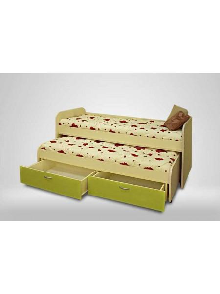 Кровать выкатная, 2 яруса