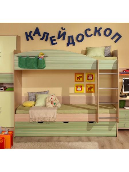 Двухъярусная кровать Калейдоскоп
