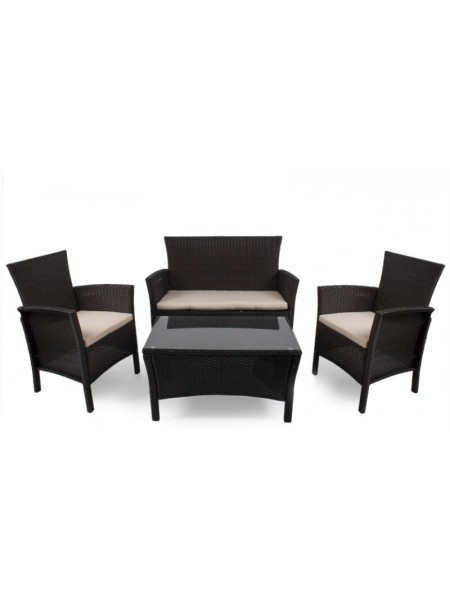 Набор плетеной мебели TJF-R406-BN