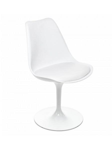 Стул Tulip MK-6949-WT вращающийся 49х51х83 см Белый