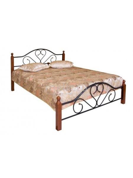 Кровать FD 802 MK-1909-RO односпальная 90х200 см Темная вишня