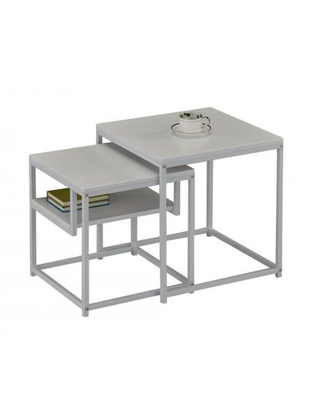 Комплект MK-6308-WT из 2 столиков 0х0х0 Белый