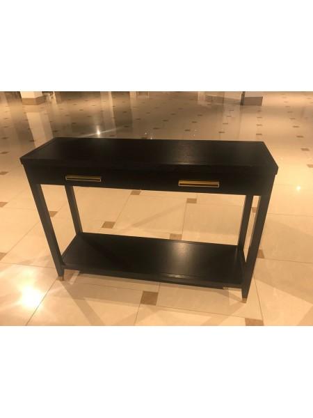 Столик консольный Deco MK-6212-PB 120х36х86 см Черный оникс