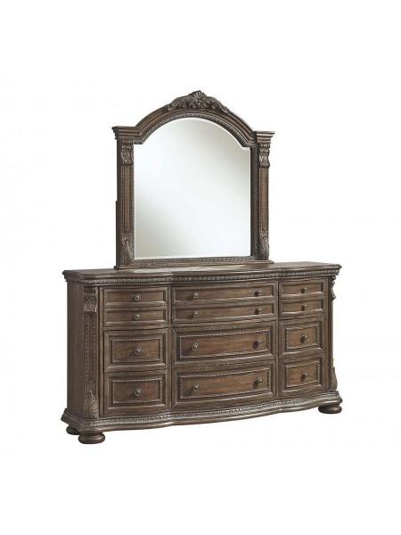 Зеркало Charmond B803-36 114х11х114 см Коричневый