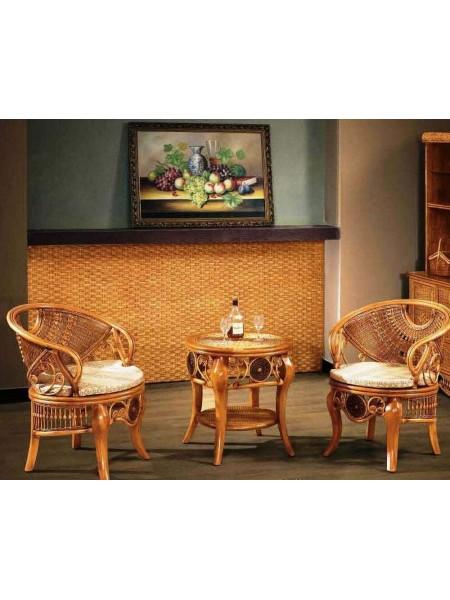 Кресло 3030 MK-3454 73х68х75 см Медовый
