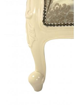 Софа MK-2525-IV 2-местный 140х75х96 см Слоновая кость
